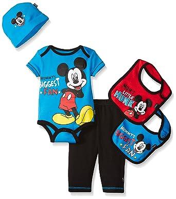 a5c46eb74ac5 Disney Baby Mickey Mouse 5 Piece Layette Box Set
