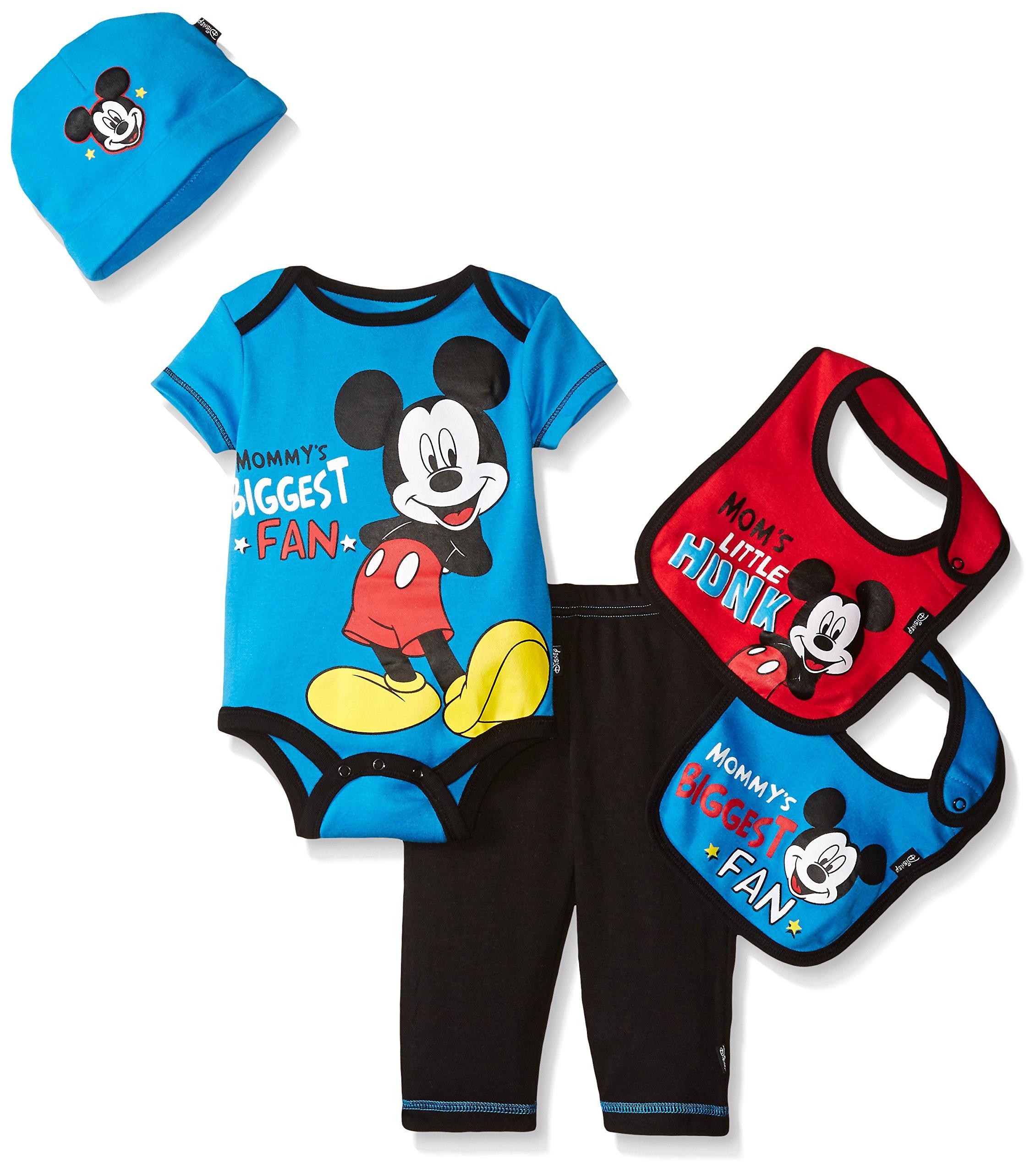 Amazon Disney Baby Mickey Mouse Essentials Bundle Blue Baby