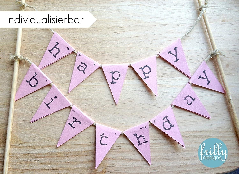 Happy Birthday Kuchengirlande