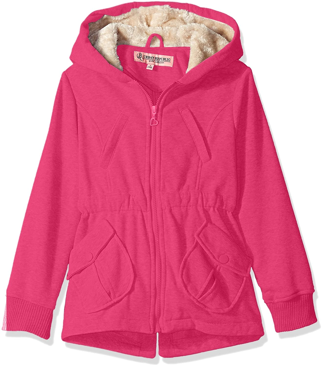 Urban Republic Girls' Fleece Jacket 5588