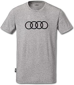 Audi collection 313170181 - Camiseta para Hombre, Color Gris, XXXL: Amazon.es: Coche y moto