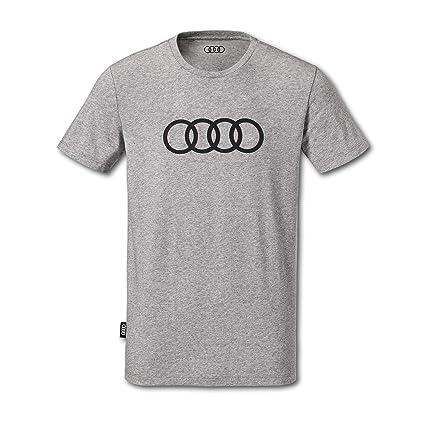 Camiseta para Hombre de Audi. Gris Large: Amazon.es: Coche y moto