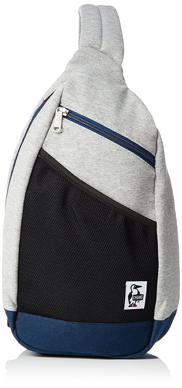 [チャムス] ショルダーバッグ Body BagSweat Nylon CH60-2519-K018-00 B078KJGT74 ヘザーグレーベーシックネイビー ヘザーグレーベーシックネイビー