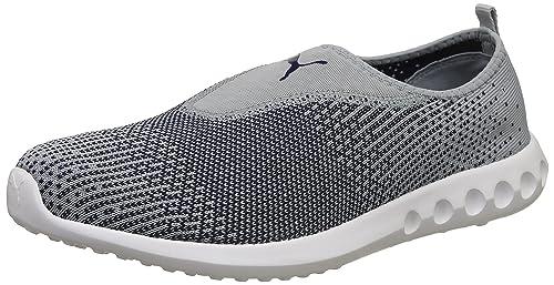 6edbc00da72 Puma Men s Carson 2 Slip-On IdpMen Quarry-Peacoat Running Shoes-8 UK ...