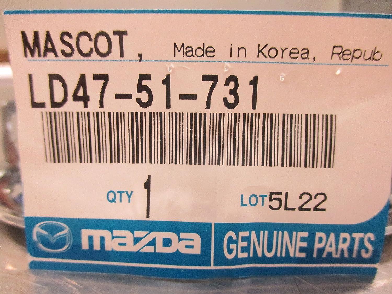 2004-2006 MAZDA 3 MAZDA 6 FRONT GRILLE EMBLEM LD47-51-731 LOGO BADGE SYMBOL NAMEPLATE
