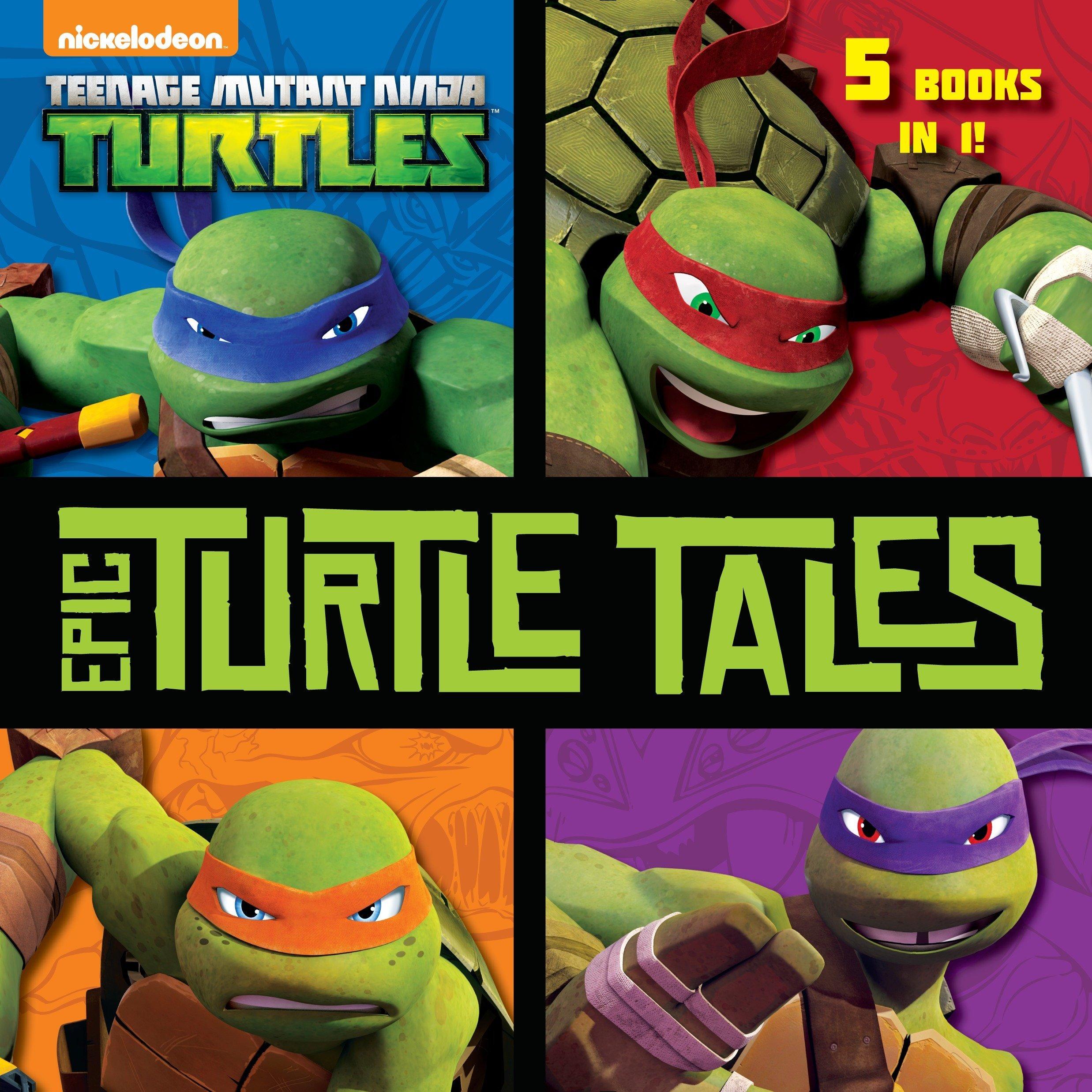 Epic Turtle Tales (Teenage Mutant Ninja Turtles): Amazon.es ...