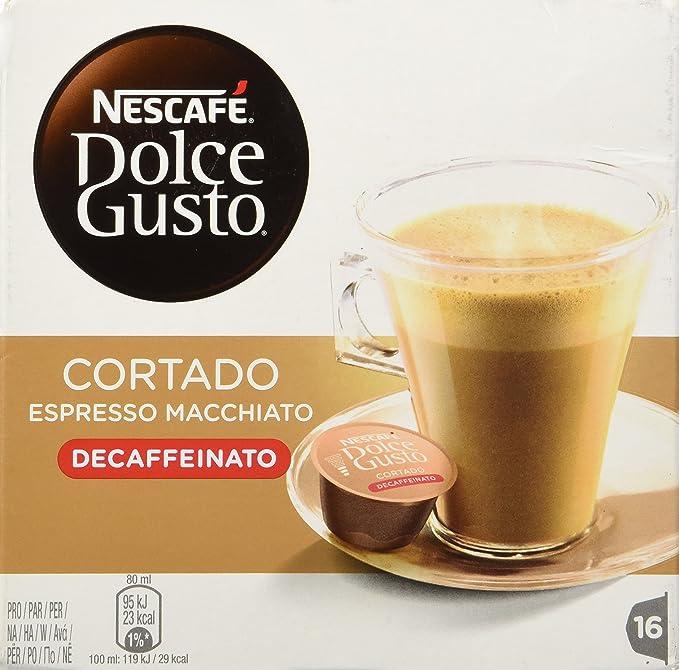 Nescafe Dolce Gusto – cortado Decaffeinato – 16 decaf ...