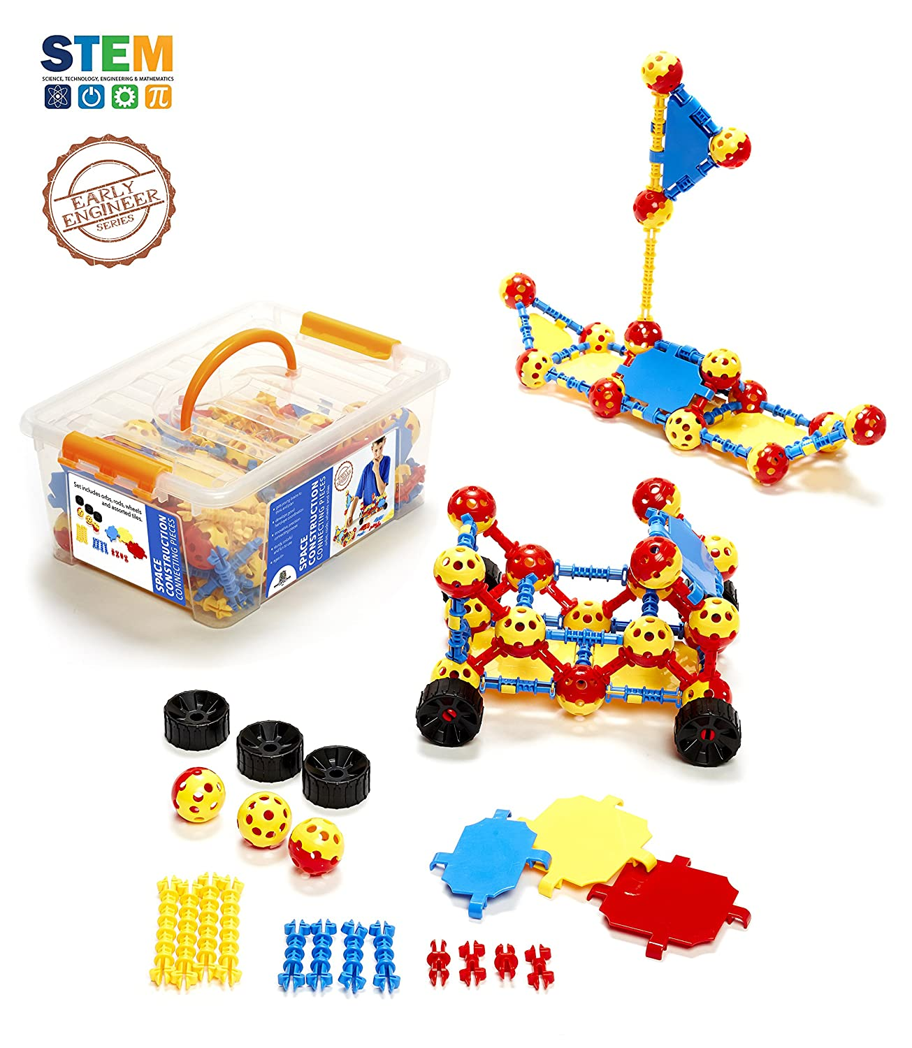 Amazon Space Construction Engineering Building Toys for Kids