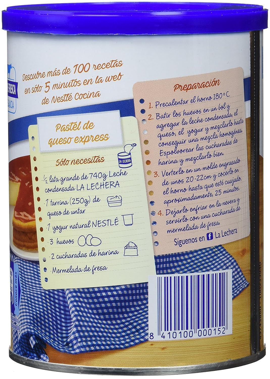 Tarta de queso philadelphia leche condensada y huevos