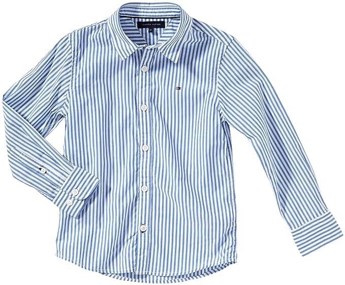 e5aa85c4343 Tommy Hilfiger Camisa mini de manga larga para niño