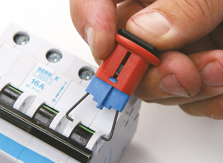 Pack of 6 Pin In Brady Miniature Circuit Breaker Lockout Standard