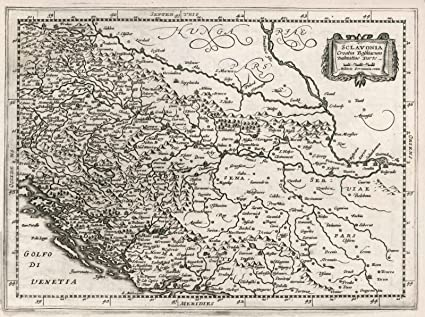 Amazon historic pictoric 1636 world atlas sclavonia croatia historic pictoric 1636 world atlas sclavonia croatia bosniacum dalmatiae parte antique vintage gumiabroncs Image collections