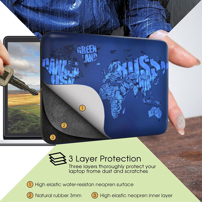 Sidorenko 10,1-10,2 pollici Tablet Custodia 42 Designs a scelta Borsa in Neoprene