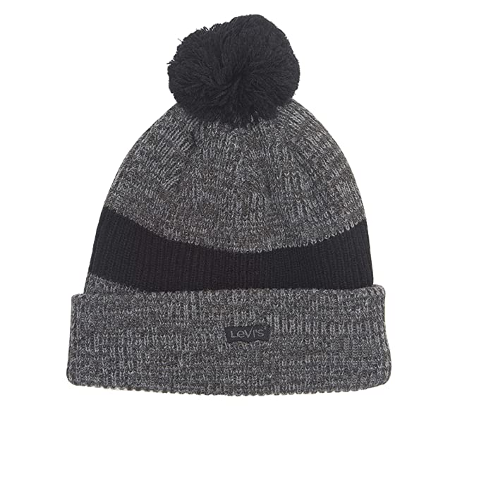 Levi s Men s Pompom Cable Beanie Hat 7ac464378d0