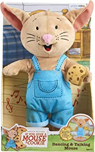 """If You Give a Mouse a Cookie 12"""" Dancing & Talking Mouse - Amazon Exclusive"""