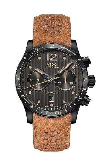 MIDO MULTIFORT SPECIAL EDITION RELOJ DE HOMBRE AUTOMÁTICO M025.627.36.061.10: Amazon.es: Relojes