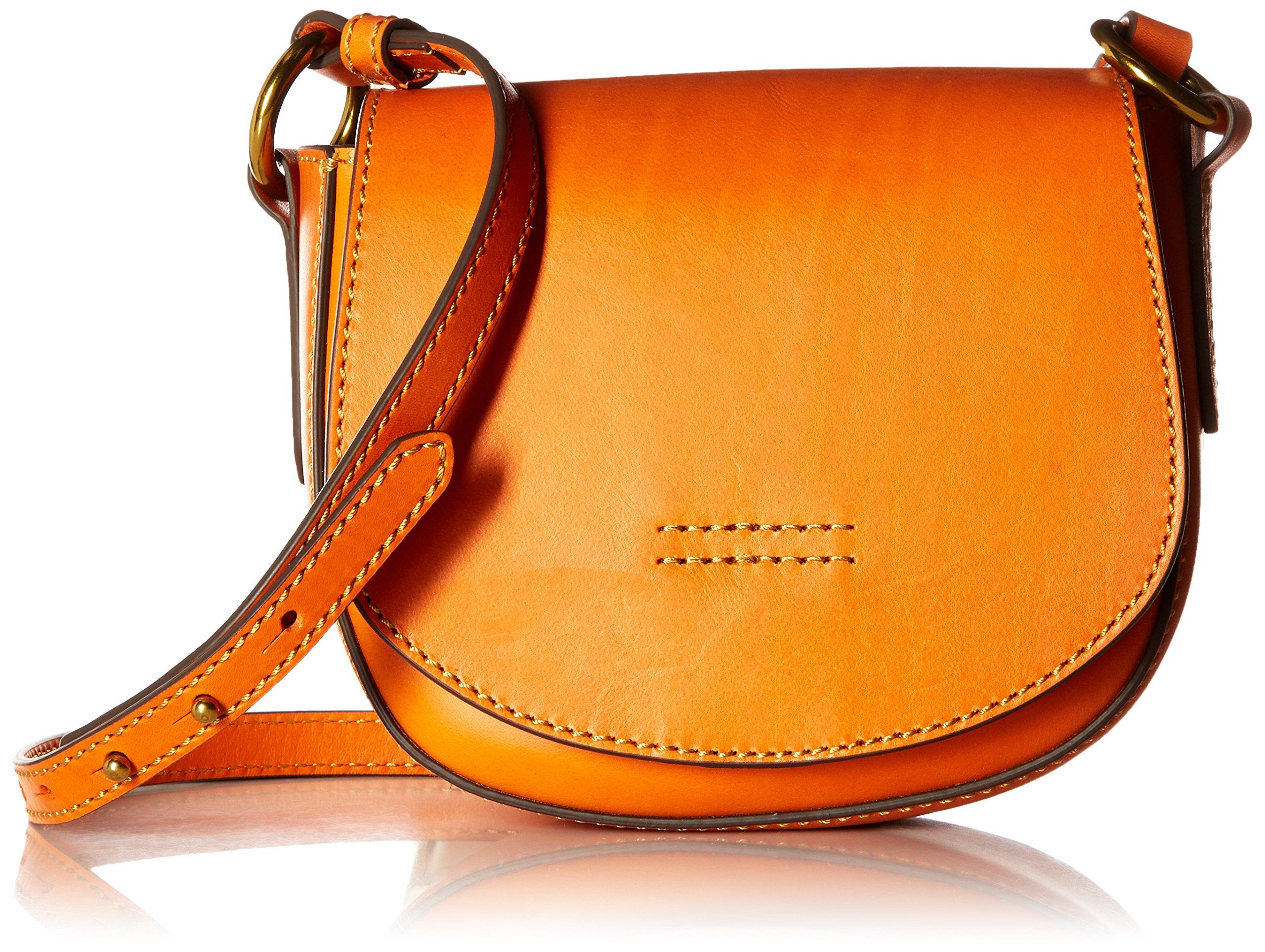 FRYE Harness Small Saddle, Orange