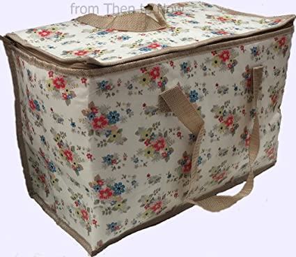 Vintage Floral Summer Daisy Insulated Eco Cool Picnic Bag Cooler Bags Cooking & Dining