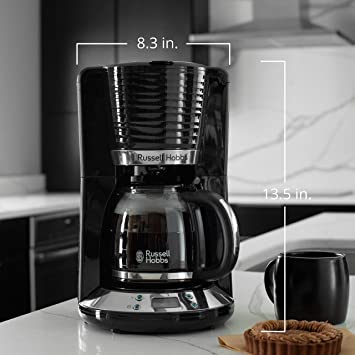 Amazon.com: Russell Hobbs CM4300BR Coventry 8-Cup ...