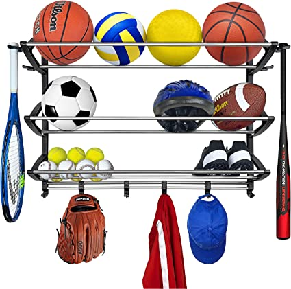 Lynk Sports Rack Organizer Gear Storage