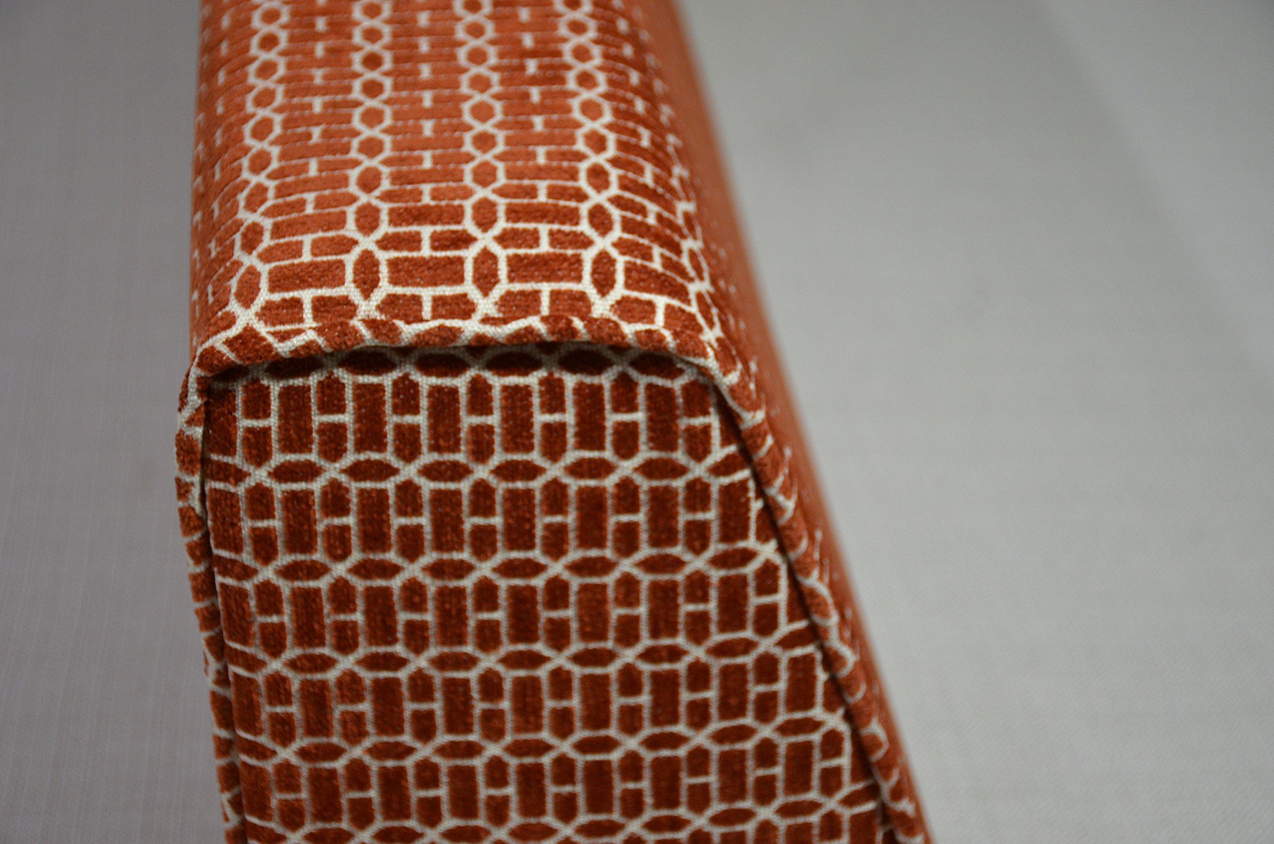 micama Wedge Bolster Cover (Charcoal Grey)