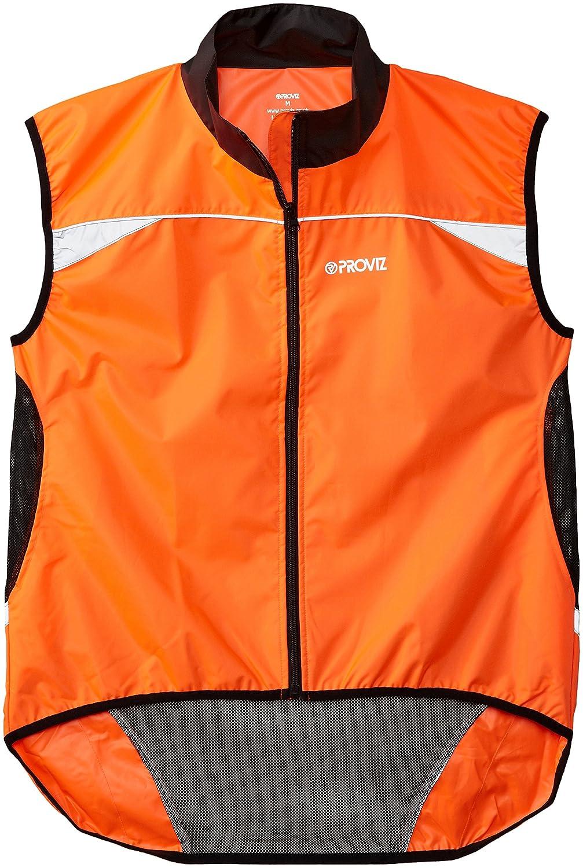 Reflective Gear Proviz Classic Hi Viz Running Vest Sports & Outdoors