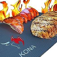Kona Best Grill Mat(TM) - Heavy Duty Non-Stick BBQ Grilling Mats (Set of 2)