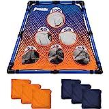 Franklin Sports Kids Bean Bag Toss - Great for Kids-Indoor Outdoor Use, Blue/Orange