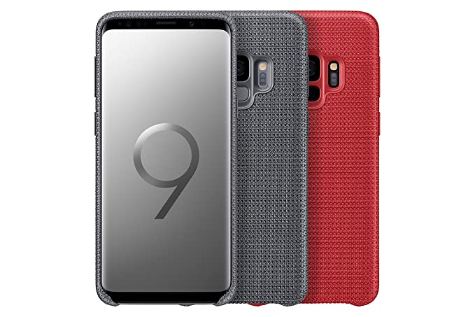 Samsung Official OEM Galaxy S9 Hyperknit Cover Red