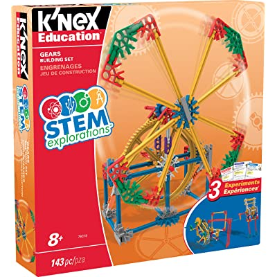 K'NEX Education STEM EXPLORATIONS: Gears Building Set Building Kit: Toys & Games