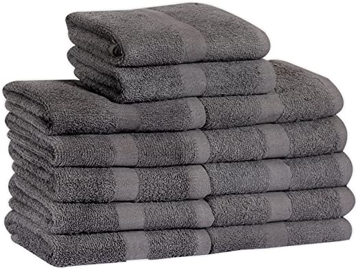 120 absorbent white 100/% cotton hotel hand towels 16x27 soft spa salon grade