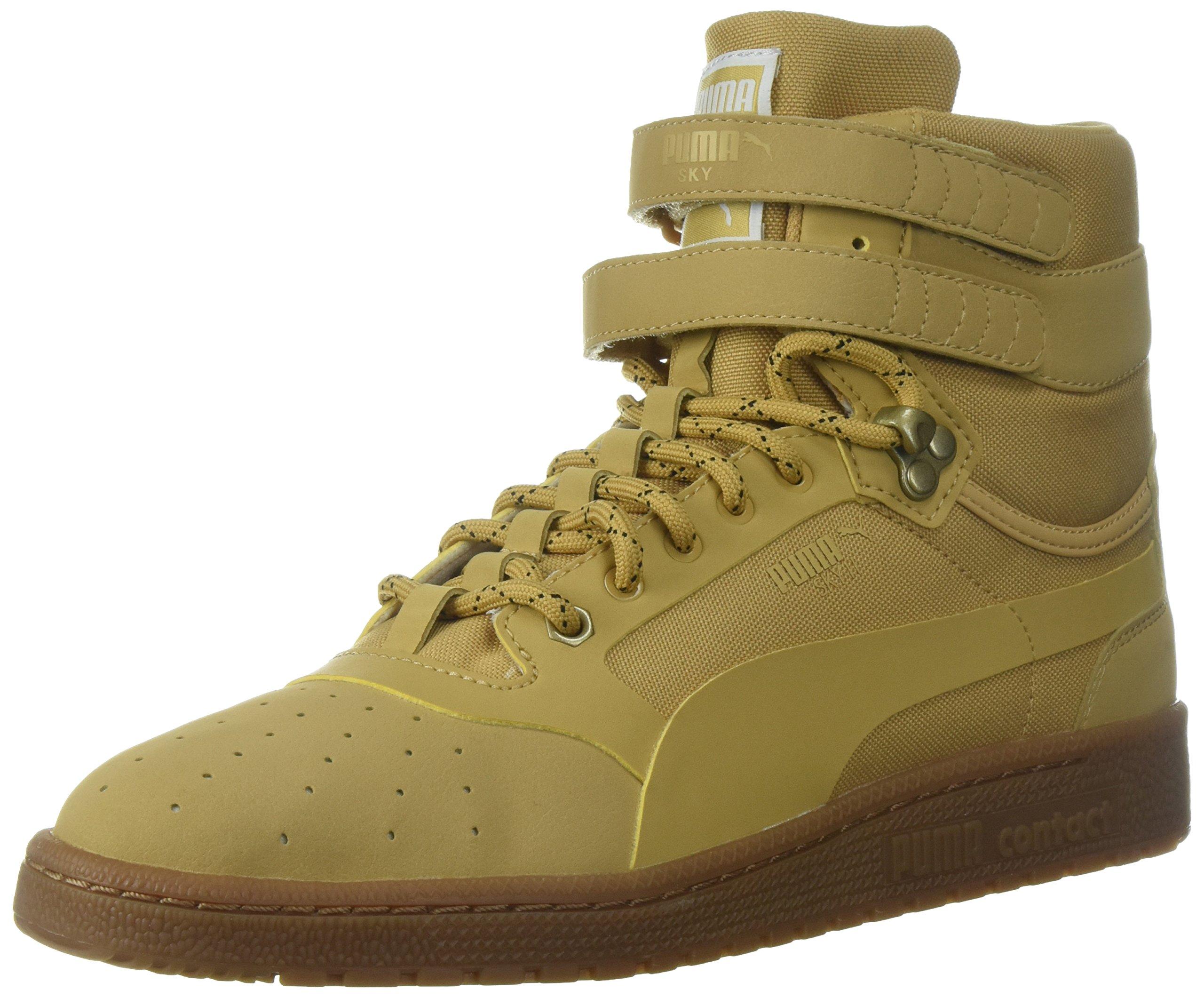 PUMA Men's Sky II Hi Weatherproof Sneaker, Taffy, 7