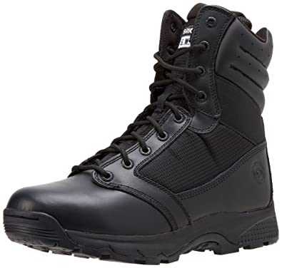 Original S.W.A.T. Men's Win X2 8 Inch Waterproof Military and Tactical  Boot, Black, 4
