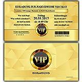 Einladungskarten Zur Jugendweihe Einladung Jugendweihekarten Für Jungen U0026  Mädchen Inkl Ihres Namen U0026 Daten Personalisiert In