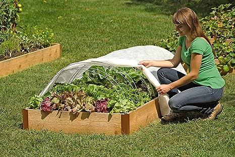 Amazon.com : Support Hoops for Garden Fabric, Set of 6 : Garden ...