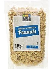 365 Everyday Value Roasted & Unsalted Peanuts, 16 oz