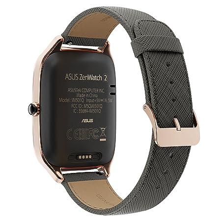 Asus WI501Q-2LBLU0002 ZenWatch 2 Montre Intelligente (Écran Tactile 3,68 cm (1,45