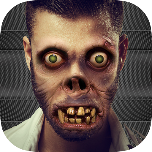Zombie Cam - Zombie Camera FX Booth Scary Face Maker -
