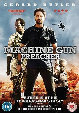 machine gun preacher dvd amazon co uk gerard butler michelle