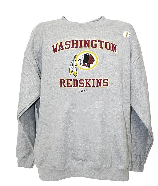 the best attitude b458e 55c99 Amazon.com : NFL Washington Redskins Crew Neck Sweatshirt ...