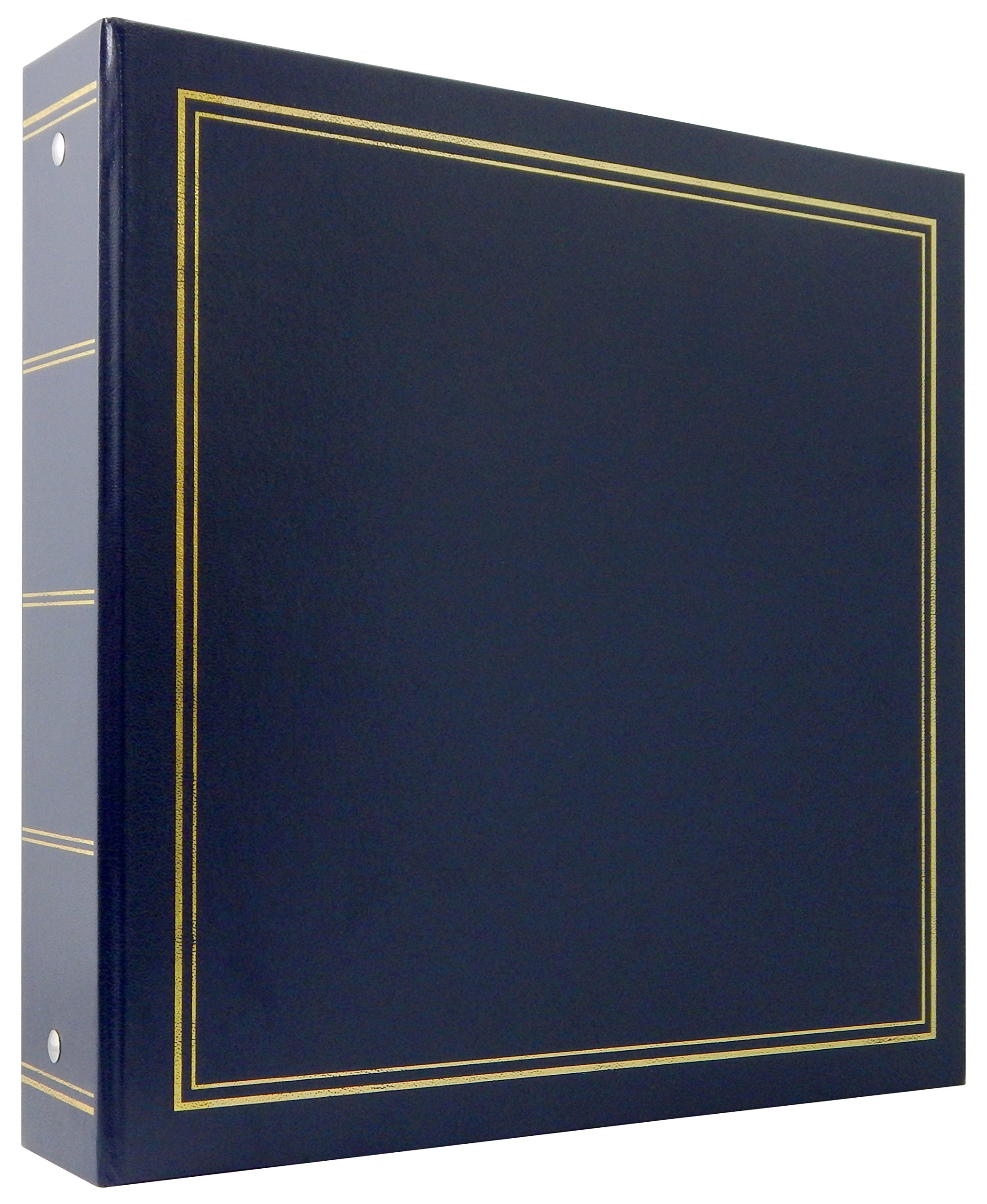 MBI Library Collection 400 Pocket 4x6 Inch Photo Album, Blue (804002) by MCS