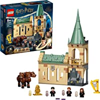 LEGO 76387 Harry Potter Hogwarts: Fluffy Encounter Castle Toy Building Set, with 20th Anniversary Golden Minifigure & 3…