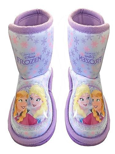 9//10 DISNEY STORE TODDLER GIRL FROZEN SLIPPERS BOOTIES 7//8 11//12
