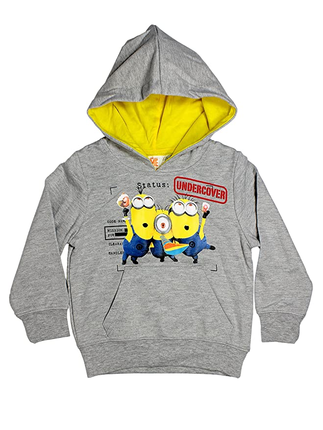 Minions Official Boys Hoodie Sweater Age 3/8 Years: Amazon.es: Ropa y accesorios
