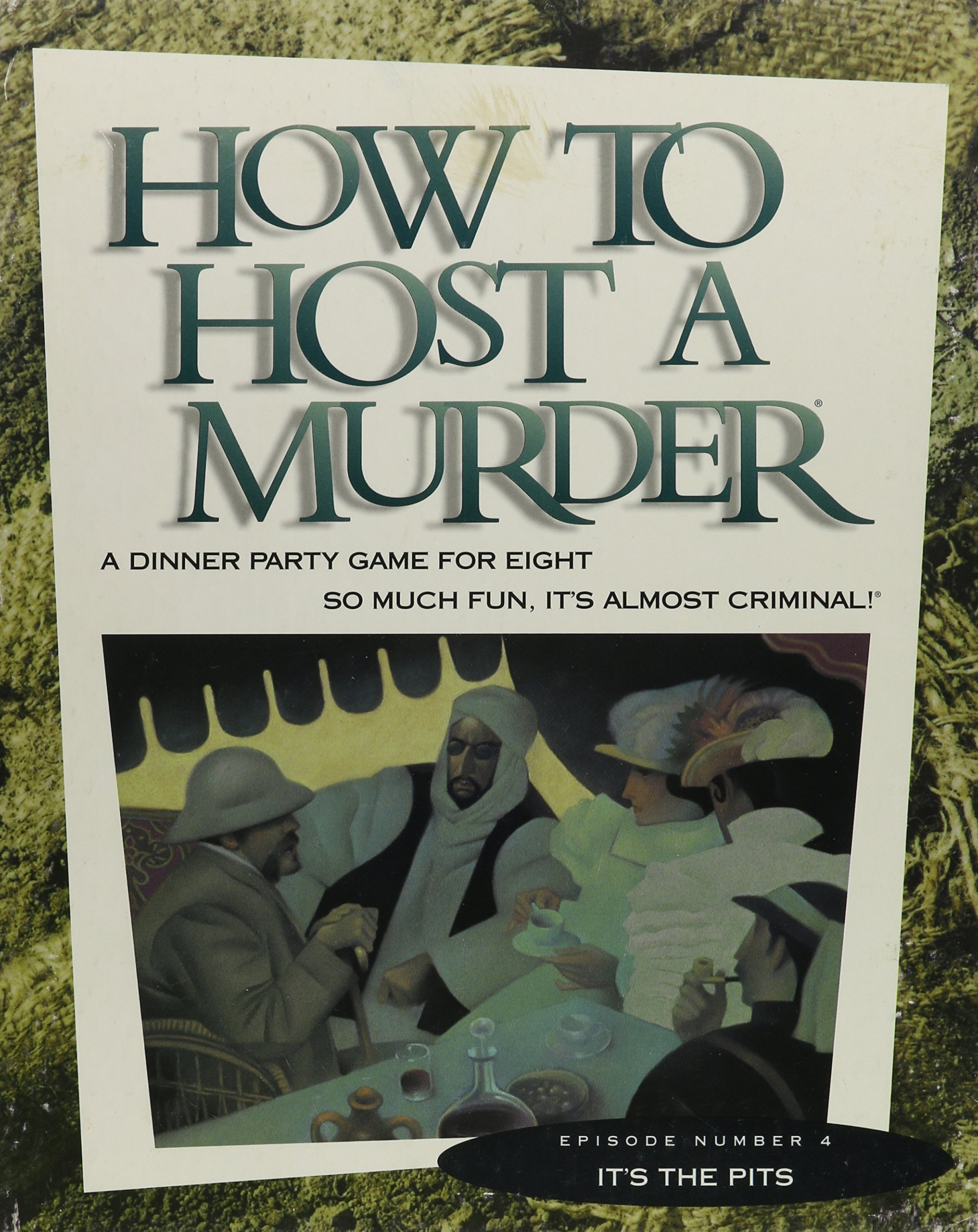 How to Host a Murder: Archeologically Speaking, Its the Pits/Game