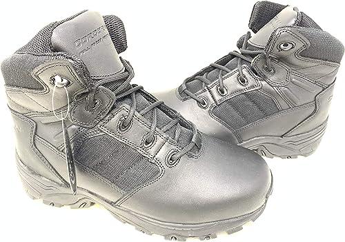 Corcoran Mens 6 Non-Metallic Tactical Boots with Side Zipper Black 10.5 Wide CV5002