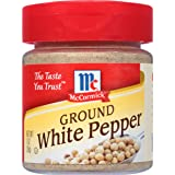 McCormick Ground White Pepper, 1 oz
