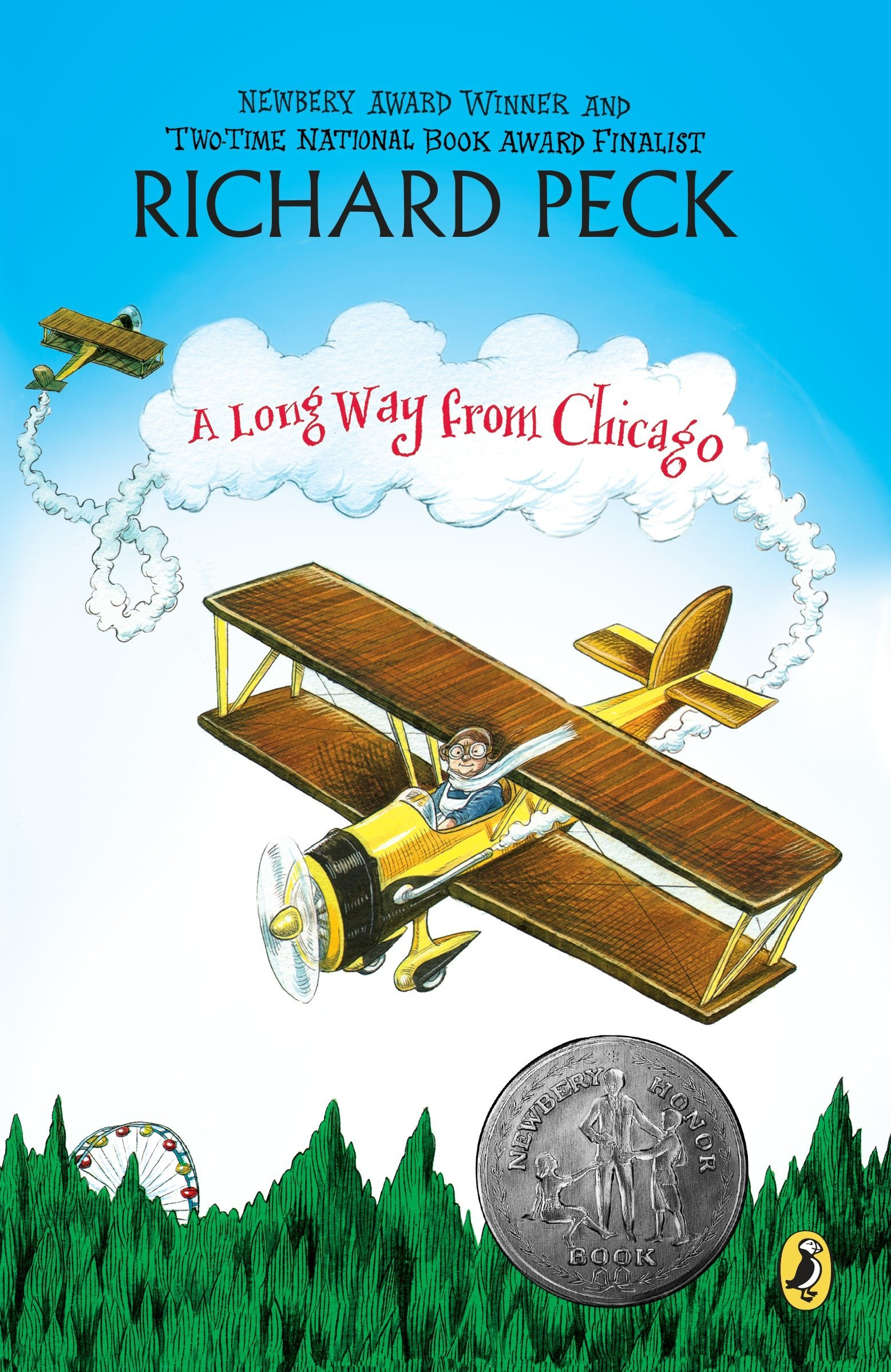 A Long Way From Chicago Novel In Stories Puffin Aircraft Wiring Books Modern Classics 9780141303529 Richard Peck