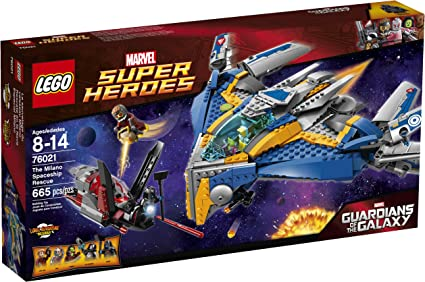 LEGO Super Heroes 76081 Guardians of The Galaxy The Milano STICKER SHEET