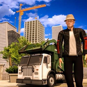 Real Life Driving Games >> Amazon Com Virtual City Life Simulator Dumper Truck